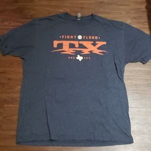 Fight the flood TX harvey t shirt